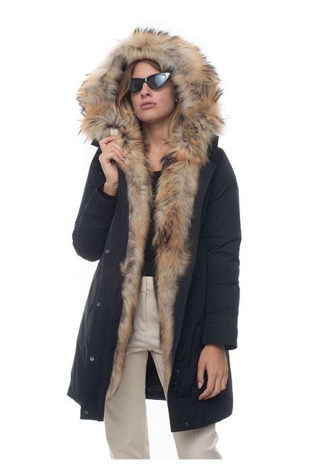 Luxury boulder coat fr  hooded harrington jacket Woolrich | 20000057 | WWOU0324-UT0573100