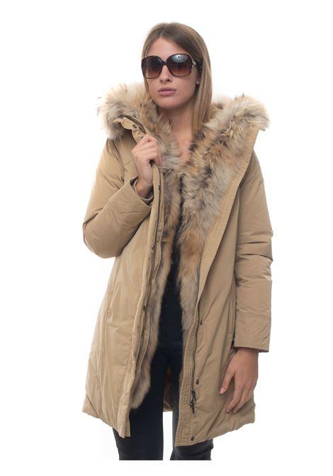 Giubbino con cappuccio luxury boulder coat fr Woolrich | 20000057 | WWOU0324-UT05738296
