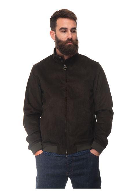 Royston  Bomber jacket in velvet Barbour | -276790253 | MCA07460L72