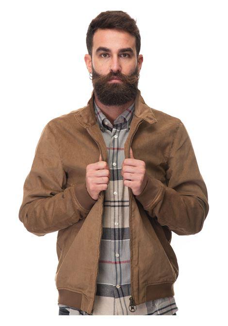 Royston  Bomber jacket in velvet Barbour | -276790253 | MCA0746BE53