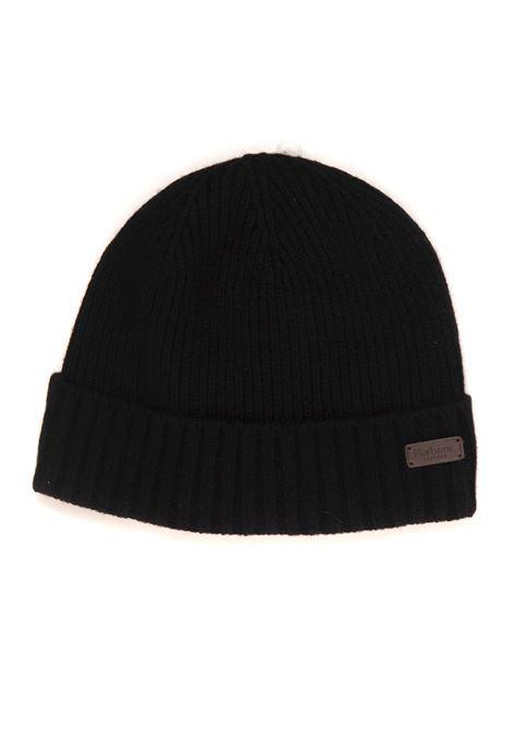 English rib hat pattern Barbour | 5032318 | MHA0449BK11