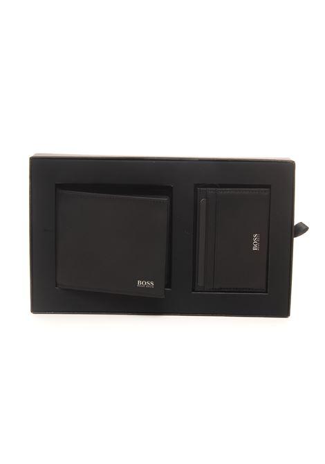Set portafoglio e portacarte GBBM_8CC BOSS | 63 | GBBM_8CC-50460504001