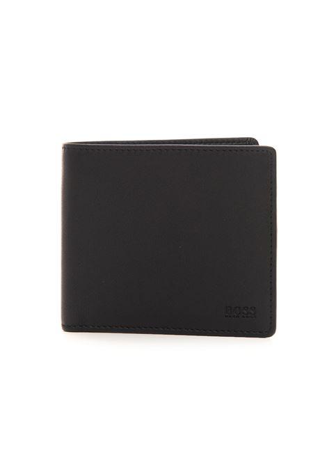 MAJESTICS_4 Zip leather wallet medium size BOSS | 63 | MAJESTIC S_4-50397485001