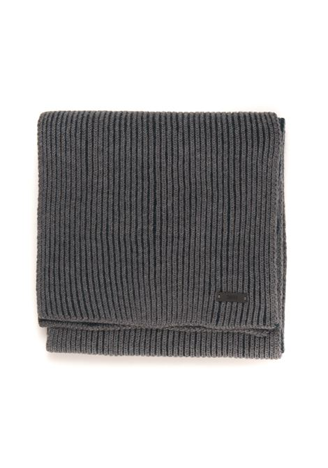 Large ribbed scarf BOSS   77   NASTRO-50455694030