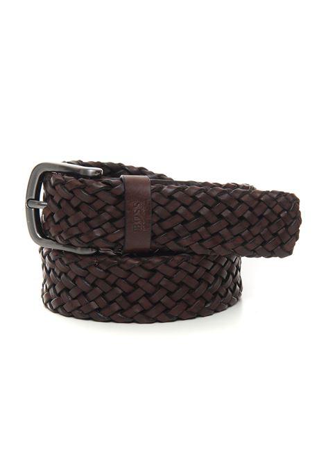 Cintura in pelle BOSS   20000041   SASH-WN2_SZ35-50430043202