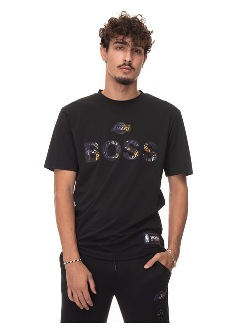 T-shirt girocollo mezza manica TBASKET BOSS | 8 | TBASKET_2-50461962002