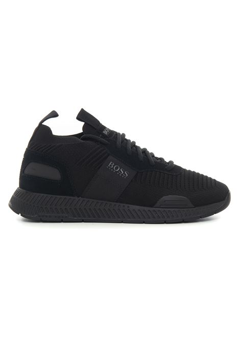 Sneakers con rialzo allacciata BOSS | 5032317 | TITANIUM_RUNN_KNST1-50452034001