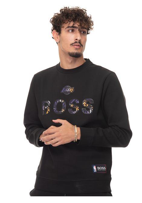 WINDMILL_2 Crewneck sweatshirt BOSS | 20000055 | WINDMILL_2-50461981002
