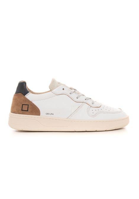 Sneakers in pelle con lacci COURT LEATHER WHITE / D.A.T.E. D.A.T.E. | 5032317 | M351-CR-LEWH