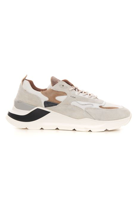 Sneakers bassa in canvas e suede FUGA HORSY WHITE / D.A.T.E. D.A.T.E. | 5032317 | M351-FG-HOWH