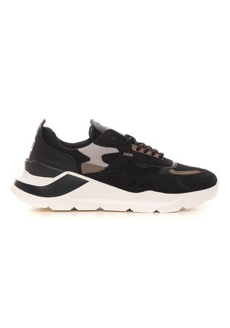 Sneakers con rialzo allacciata FUGA MESH BLACK / D.A.T.E. D.A.T.E. | 5032317 | M351-FG-MEBK