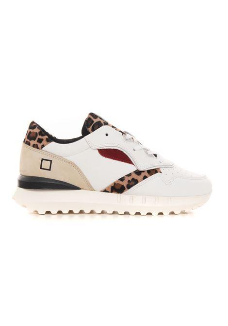 Sneakers con lacci LUNA ANIMALIER D.A.T.E. | 5032317 | W351-LN-ANLL