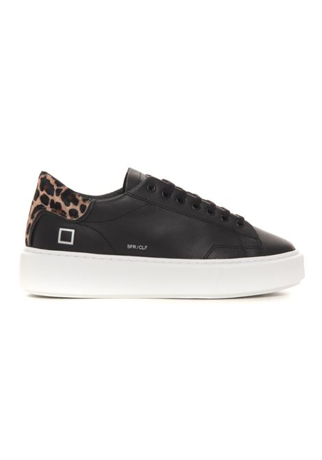 Sneakers con lacci SFERA CALF D.A.T.E. | 5032317 | W351-SF-CABK