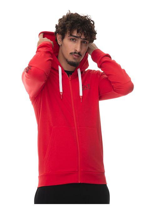 Sweatshirt with zip EA7 | 20000055 | 6KPM58-PJ9FZ1451