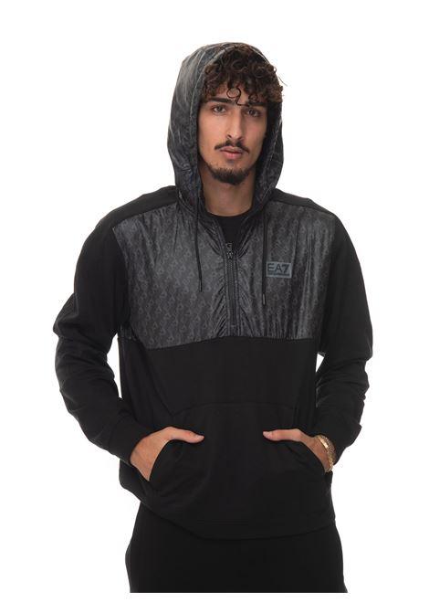 Sweatshirt with half zip EA7 | 20000055 | 6KPM70-PJ05Z1200