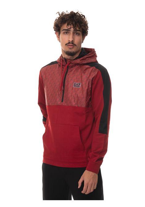 Sweatshirt with half zip EA7 | 20000055 | 6KPM70-PJ05Z1459