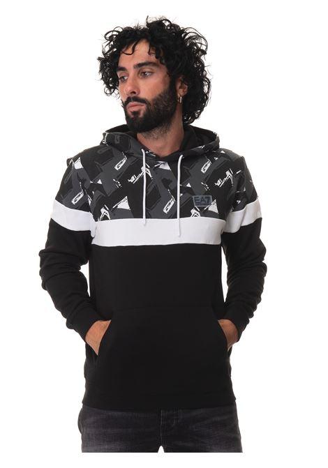 Sweatshirt with hood EA7 | 20000055 | 6KPM82-PJ07Z1200