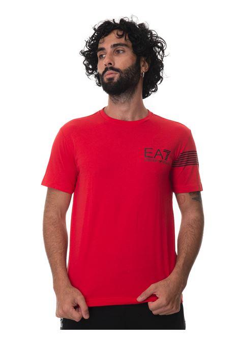 Round-necked T-shirt EA7 | 8 | 6KPT03-PJ3BZ1451