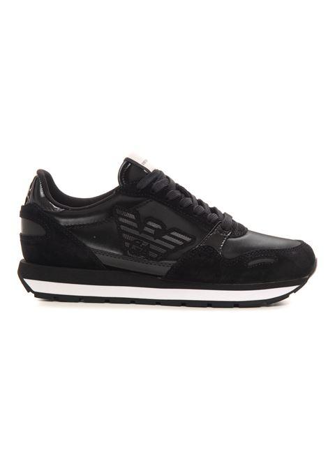 Sneakers in pelle con lacci Emporio Armani | 5032317 | X3X058-XN033Q467