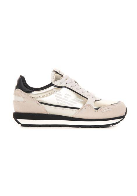 Sneakers in pelle con lacci Emporio Armani | 5032317 | X3X058-XN034Q500