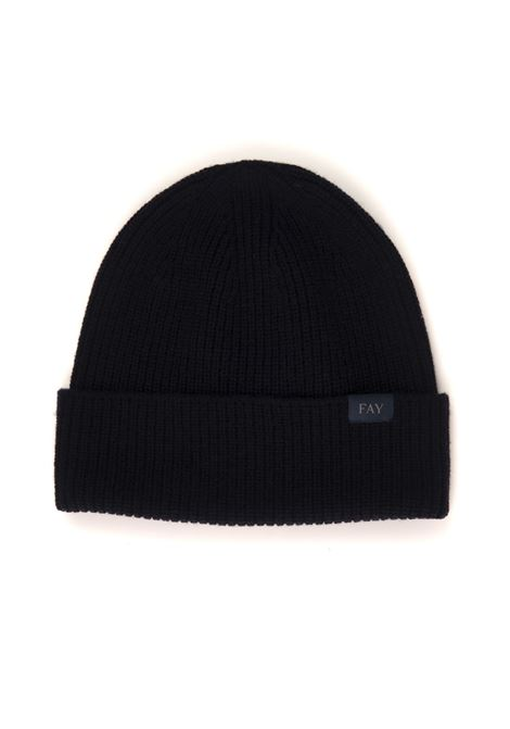 English rib hat pattern Fay | 5032318 | N7MF3433000TVAU808