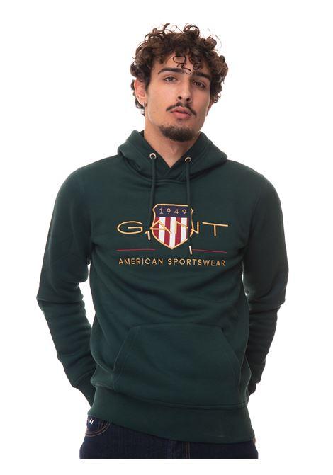 Sweatshirt with hood Gant | 20000055 | 2047056374