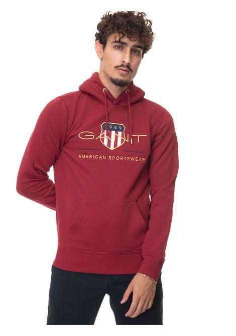 Sweatshirt with hood Gant | 20000055 | 2047056617