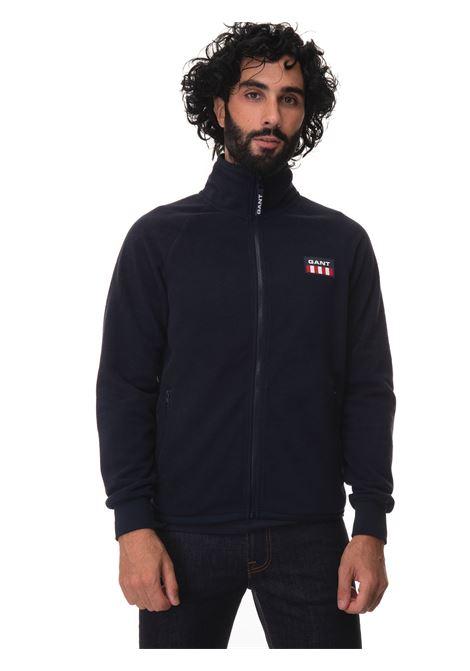 Sweatshirt with zip Gant | 20000055 | 2068000433