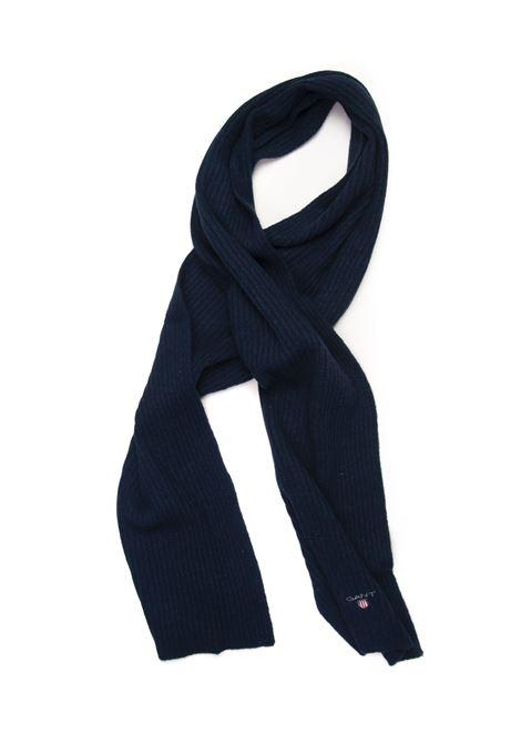 Large ribbed scarf Gant | 1375490853 | 9920002410