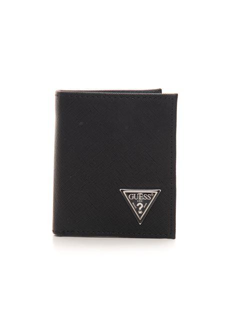 Portafoglio piccolo verticale Guess | 63 | SMCERT-LEA22BLA