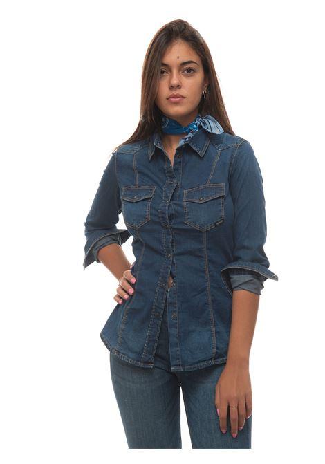 Camicia da donna in jeans Guess | 6 | W1YH11-D4FZ1DKCT