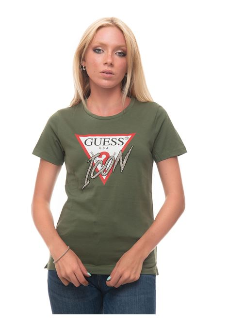 T-SHIRT LOGO ICON T-shirt Guess   8   W1YI0Y-I3Z00G8D8