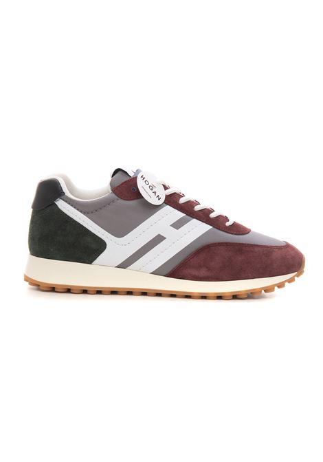 Sneakers h429 serigrafata Hogan | 5032317 | HXM4290DV00QEZ587LB414+G831+V807+B999