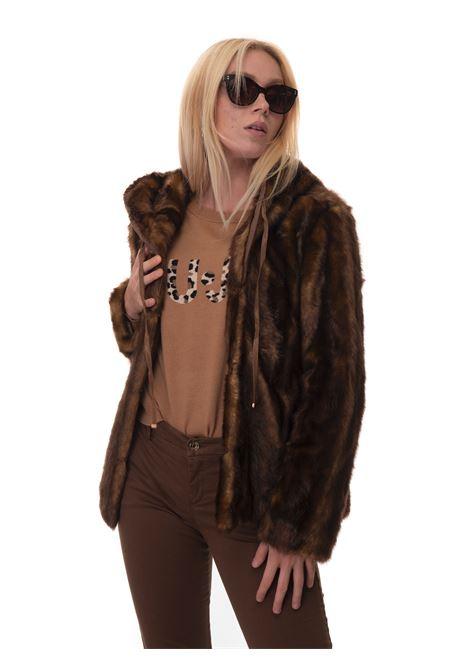 Harrington jacket with fur detail Liu Jo | -276790253 | CF1020-E070209048