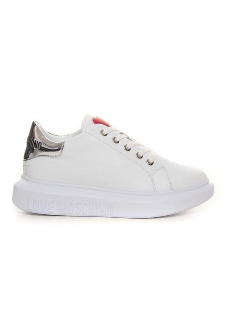 Sneakers in pelle con lacci Love Moschino | 5032317 | JA15284G0DIA610A