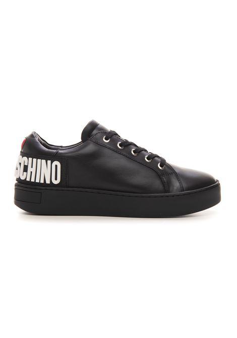Sneakers in pelle con lacci Love Moschino | 5032317 | JA15573G0DIA0000