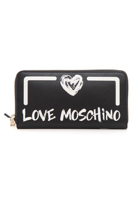 Portafoglio zip around Love Moschino | 63 | JC5665PP0DKE100A