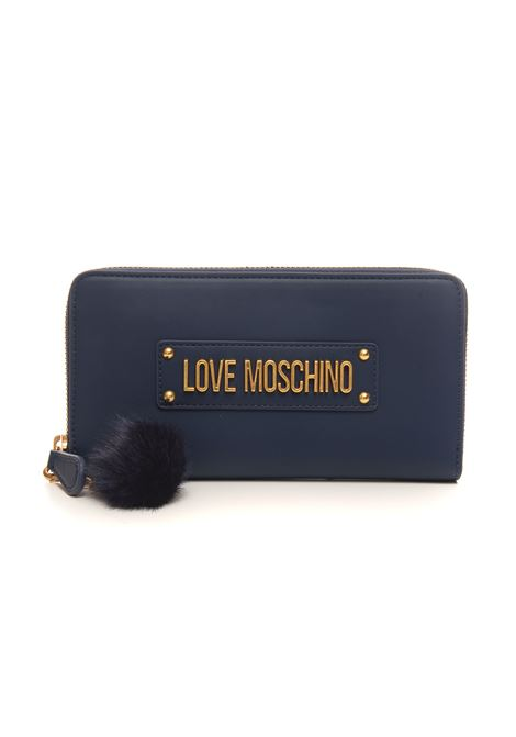 Portafoglio zip around Love Moschino | 63 | JC5673PP0DKN0751