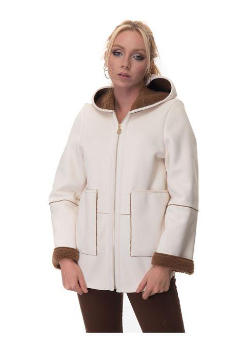 Faux sheepskin harrington jacket Luckylu   20000057   32LLCP02MP019