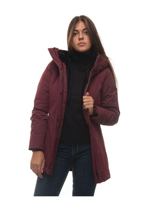 Frida hooded harrington jacket Museum | 20000057 | MS21BIDJA72-PL884C297