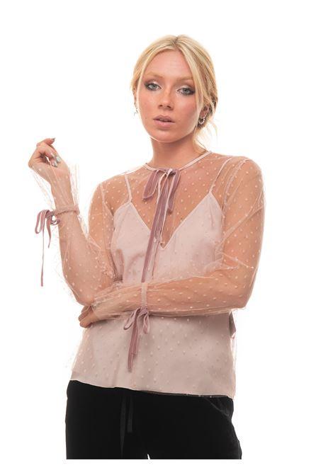 Camicia da donna in pizzo Red Valentino | 6 | WR3ABF80-1GKR13
