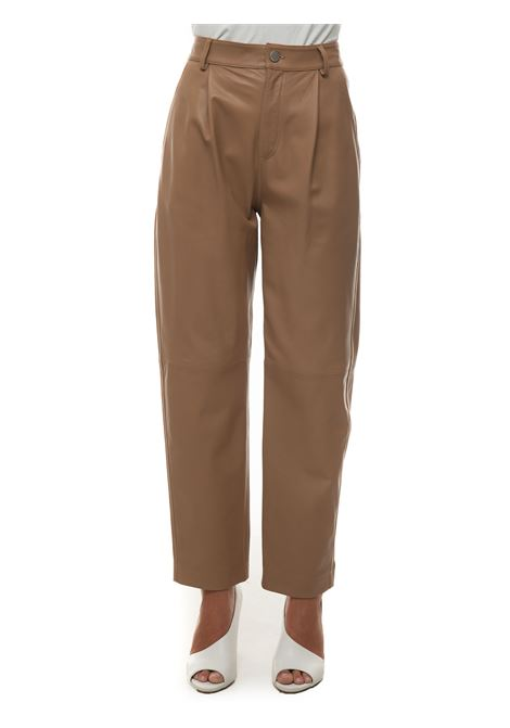 Pantalone in pelle Red Valentino | 9 | WR3NF00M-639954