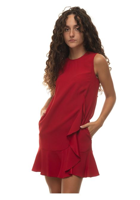 Round-neck dress with armhole Red Valentino | 130000002 | WR3VABQ5-0F1157