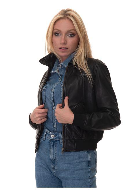 ANITA Short jacket Roy Rogers | -276790253 | A21RED349C951XXXX109-BLACK