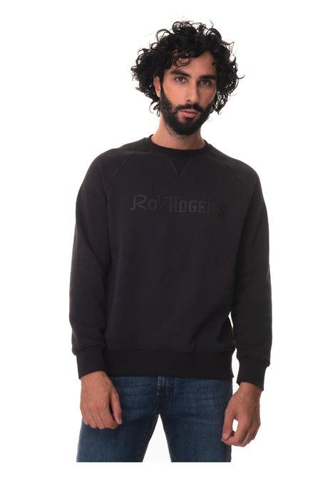 Crewneck sweatshirt Roy Rogers | 20000055 | A21RRU352CB37XXXXBLACK
