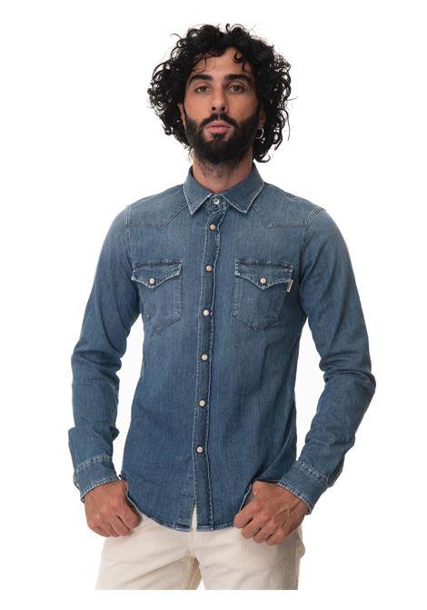 Jeans shirt Roy Rogers | 6 | A21RRU401CB201992FOLGER