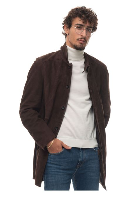 Giaccone in pelle Capetown The Jack Leathers | 20000057 | CAPETOWNMARRONE SCURO