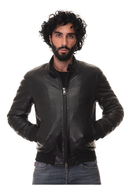 EAST-VILLAGE leather harrington jacket The Jack Leathers | -276790253 | EAST-VILLAGE-NEWZEELAND20