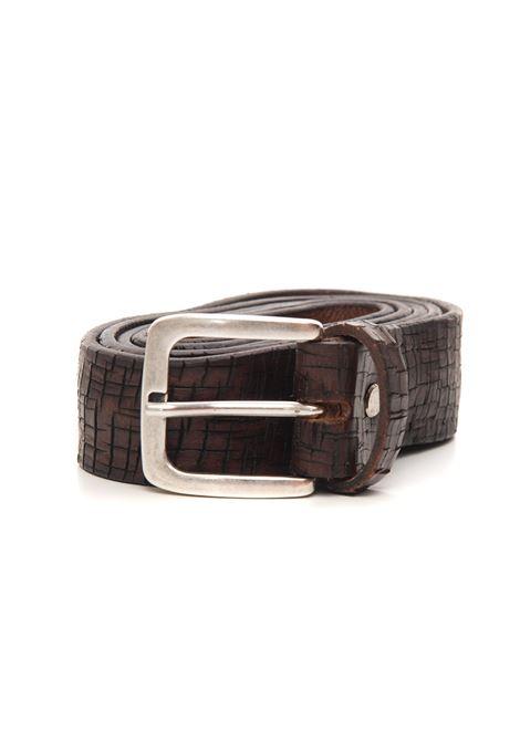 Cintura in pelle The Jack Leathers   20000041   TJ08-BULL06