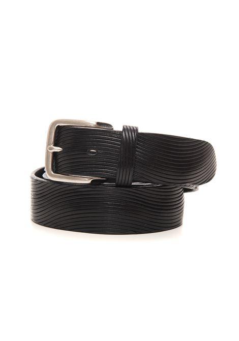 Cintura in pelle The Jack Leathers   20000041   TJ33-COWNERO
